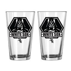 Boelter Chicago White Sox Star Wars Darth Vader 2-Pack Pint Glasses