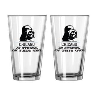 Boelter Chicago White Sox Star Wars Darth Vader 2-Pack Pint Glasses