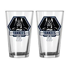 Boelter New York Yankees Star Wars Darth Vader 2-Pack Pint Glasses