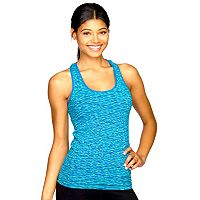 Women's Colosseum Space-Dye Seamless Workout Tank