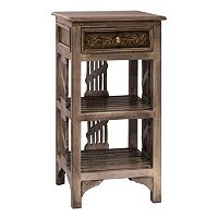Hillsdale Furniture Alena Two Shelf End Table