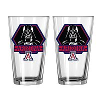 Boelter Arizona Wildcats Star Wars Darth Vader 2-Pack Pint Glasses