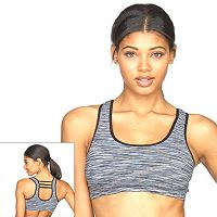 Colosseum Bra: Space-Dye Seamless Medium-Impact Sports Bra BCTB30541