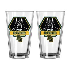 Boelter Baylor Bears Star Wars Darth Vader 2-Pack Pint Glasses