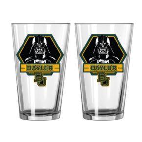 Boelter Baylor Bears Star Wars Darth Vader 2-Pack Pint Glasses