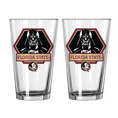 Boelter Florida State Seminoles Star Wars Darth Vader 2-Pack Pint Glasses