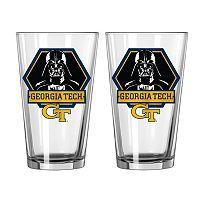 Boelter Georgia Tech Yellow Jackets Star Wars Darth Vader 2-Pack Pint Glasses