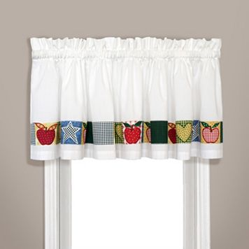 United Curtain Co. Appleton Window Valance