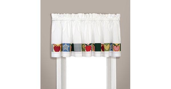 Kohl S Kitchen Curtains: United Curtain Co. Appleton Valance