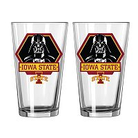 Boelter Iowa State Cyclones Star Wars Darth Vader 2-Pack Pint Glasses