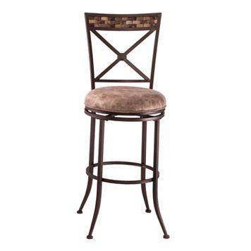 Hillsdale Furniture Compton Swivel Counter Stool