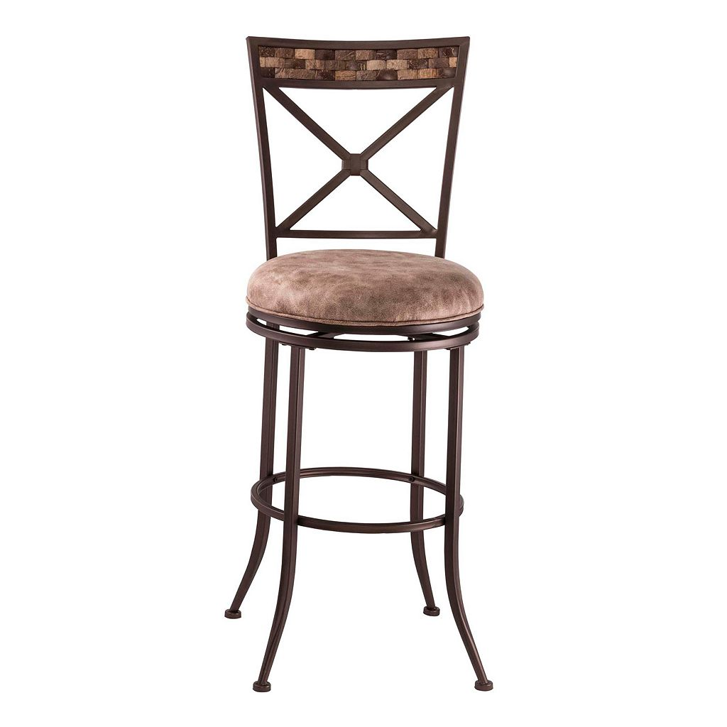 Hillsdale Furniture Compton Swivel Bar Stool