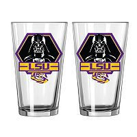 Boelter LSU Tigers Star Wars Darth Vader 2-Pack Pint Glasses
