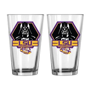 Boelter LSU Tigers Star Wars Darth Vader 2-Pack Pint Glasses