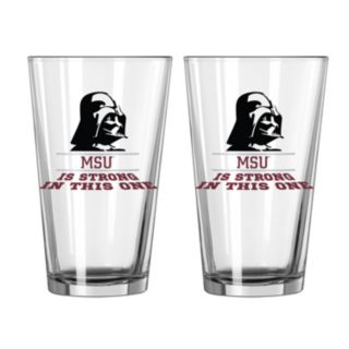 Boelter Mississippi State Bulldogs Star Wars Darth Vader 2-Pack Pint Glasses