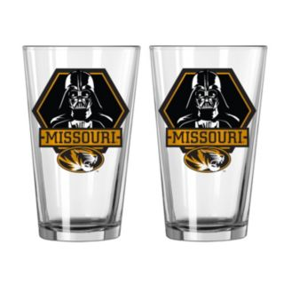 Boelter Missouri Tigers Star Wars Darth Vader 2-Pack Pint Glasses