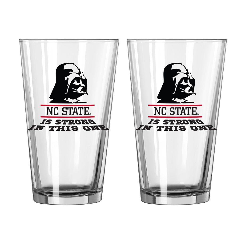 Boelter North Carolina State Wolfpack Star Wars Darth Vader 2-Pack Pint Glasses