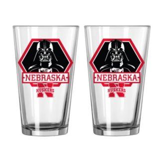 Boelter Nebraska Cornhuskers Star Wars Darth Vader 2-Pack Pint Glasses