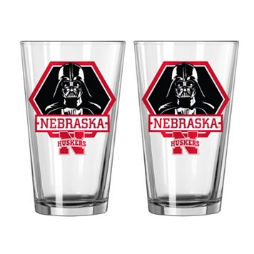 Boelter Nebraska Cornhuskers Star Wars Darth Vader 2-Pack Pint Glasses