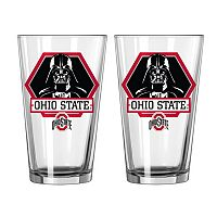 Boelter Ohio State Buckeyes Star Wars Darth Vader 2-Pack Pint Glasses