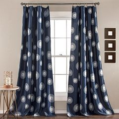 Lush Decor 2-pack Ovation Room Darkening Window Curtains