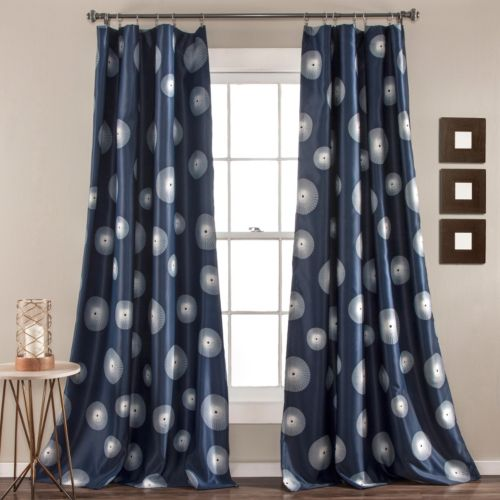 Lush Decor 2-pack Ovation Room Darkening Curtains