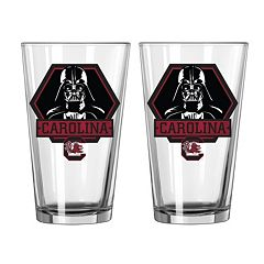 Boelter South Carolina Gamecocks Star Wars Darth Vader 2-Pack Pint Glasses