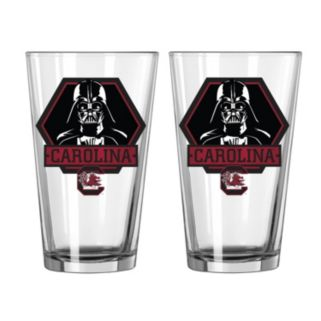 Boelter South Carolina Gamecocks Star Wars Darth Vader 2-Pack Pint Glasses