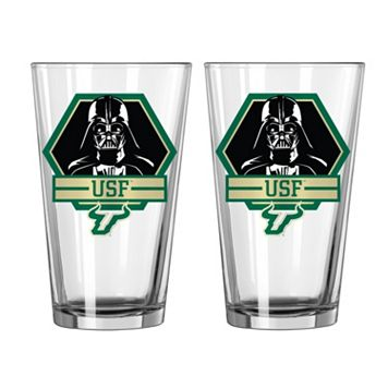 Boelter South Florida Bulls Star Wars Darth Vader 2-Pack Pint Glasses