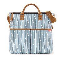 Skip Hop Duo Striped Diaper Bag