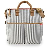 Skip Hop Duo Striped Diaper Bag