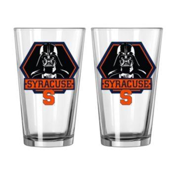 Boelter Syracuse Orange Star Wars Darth Vader 2-Pack Pint Glasses