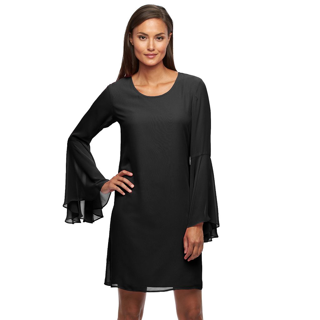 Women's Sharagano Chiffon Shift Dress