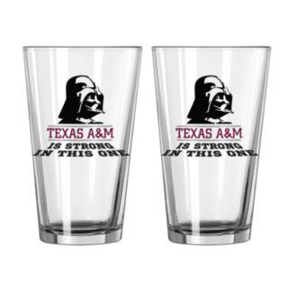 Boelter Texas A&M Aggies Star Wars Darth Vader 2-Pack Pint Glasses