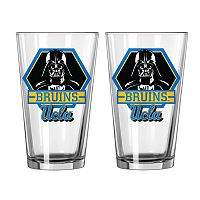 Boelter UCLA Bruins Star Wars Darth Vader 2-Pack Pint Glasses