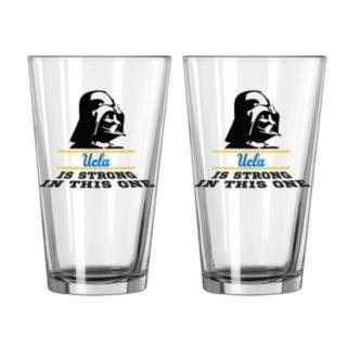 Boelter UCLA Bruins Star Wars Darth Vader 2-Pack Pint Glasses