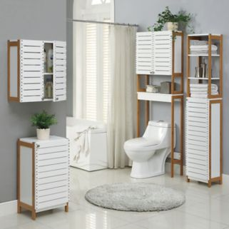 Neu Home Rendition Spacesaver Over The Toilet Cabinet