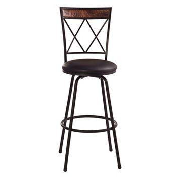 Hillsdale Furniture Howard Adjustable Bar Stool