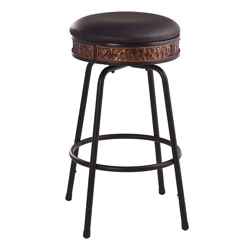 Hillsdale Furniture Howard Backless Adjustable Bar Stool