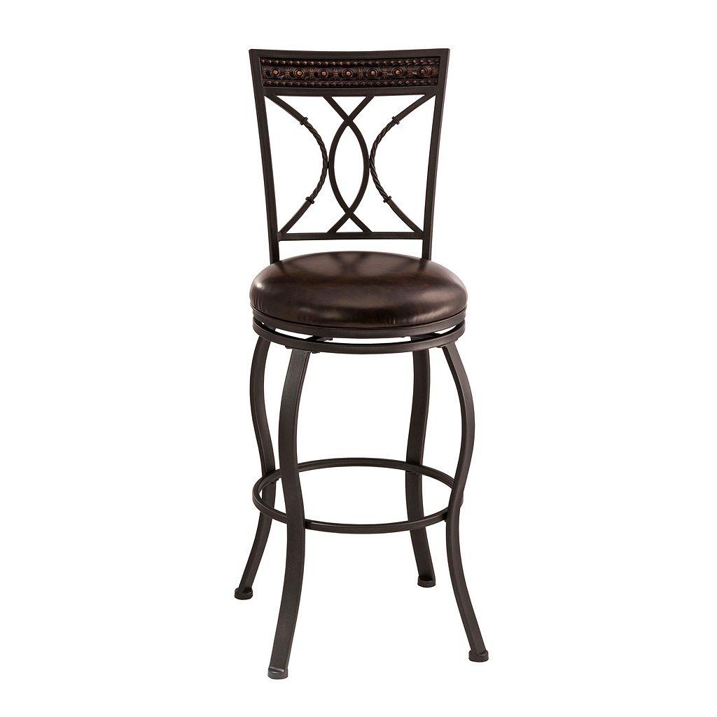 Hillsdale Furniture Kirkham Swivel Bar Stool