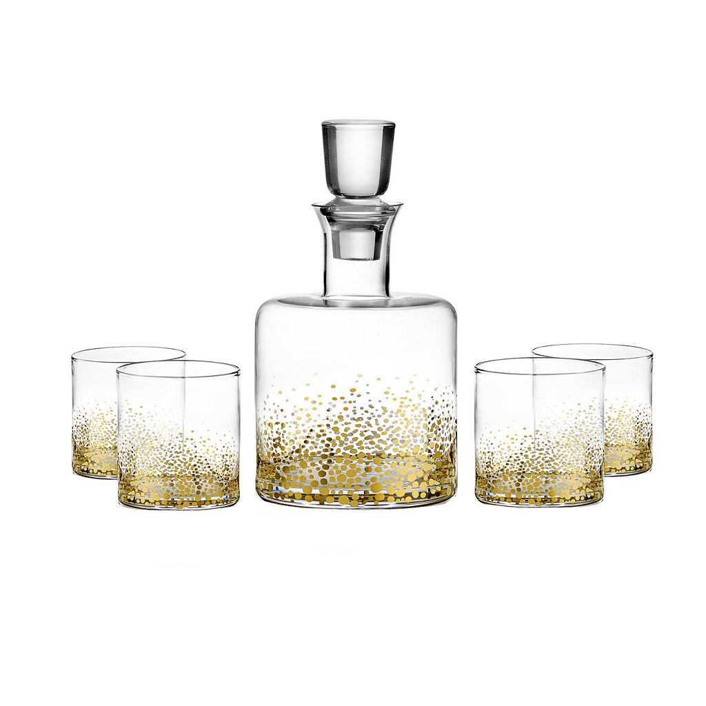 Fitz & Floyd Luster 5-pc. Whiskey Set