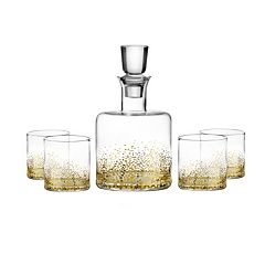Fitz & Floyd Luster 5 pc Whiskey Set