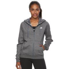 Womens Grey Nike Hoodies & Sweatshirts Active Clothing   Kohl's