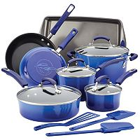Rachael Ray Brights 14-pc. Nonstick Cookware Set + $10 Kohls Cash