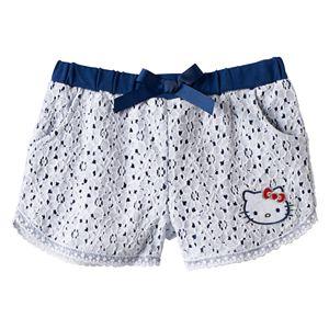 Girls 4-6x Hello Kitty® Lace Shorts