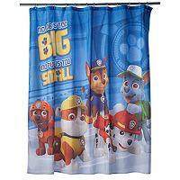 Paw Patrol Rescue Crew Shower Curtain