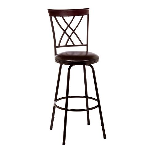 Hillsdale Furniture Northland Adjustable Swivel Bar Stool