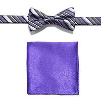 Men's Apt. 9® Pre-Tied Bow Tie and Pocket Square Set