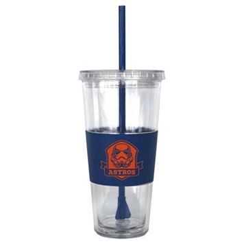 Boelter Houston Astros Star Wars Stormtrooper Straw Tumbler