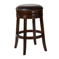 Hillsdale Furniture Tillman Brown Cherry Swivel Counter Stool